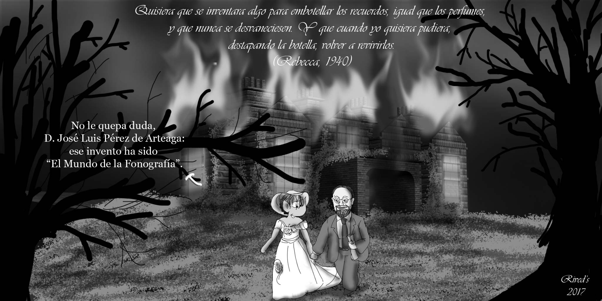 Homenaje a José Luis López de Arteaga en Rebecca